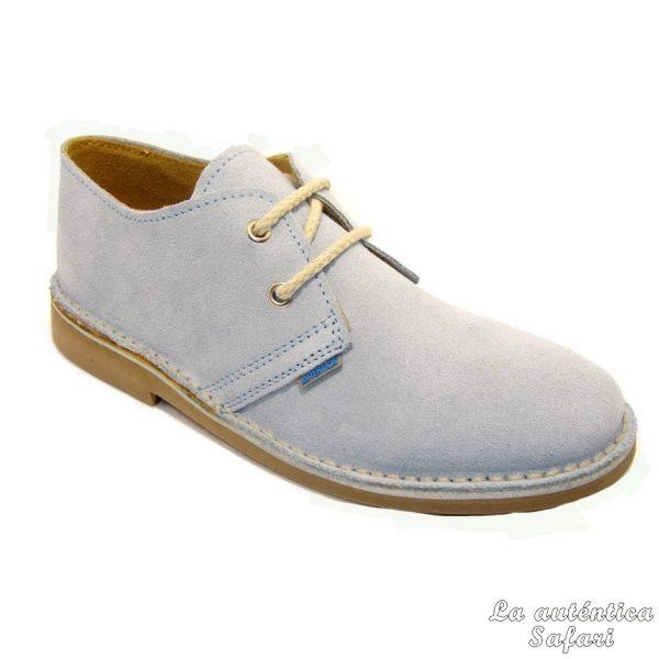 Zapato safari Azul Celeste